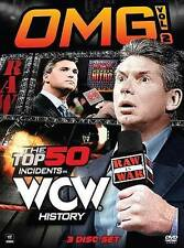 WWE: OMG!, Vol. 2: The Top 50 Incidents in WCW History (DVD, 2014, 3-Disc Set)