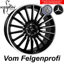 "19"" Keskin KT15 Alufelgen ET30 Black Polish für Mercedes C Klasse W203"