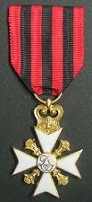 BELGIQUE - Croix du Mérite Civique Classe Or