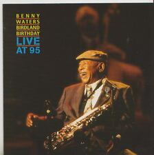 BENNY WATERS     CD  LIVE AT 95