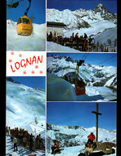 LOGNAN / MONT BLANC (74) TELECABINE au CHALET-HOTEL animé