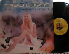 "Traci Lords - 12"" Fallen Angel  (4 mixes) (sexy pic of former X-rated star)"