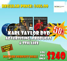 Karl Taylor Advertising, Product & Still Life Photography Instructional DVD