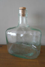 Antique Hand Made Glass Bottle