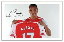 ALEXIS SANCHEZ ARSENAL SIGNED AUTOGRAPH PHOTO PRINT  SOCCER