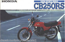 HONDA CB250RS CB250 RESTORATION DECAL SET