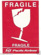 Baggage Label - Pacific Airlines - Fragile Sticker (Vietnam) (BL372)