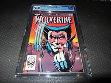 Wolverine1 CGC 9.8 NM/Mint, Limited Series (Marvel 1982) 1st Solo Series