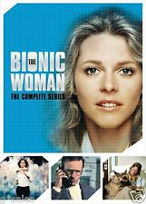 The Bionic Woman Complete Series Season 1-3 (1 2 3 + EXTRAS) NEW 14-DISC DVD SET