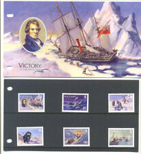 Isle of Man Voyage of the Victory-North Pole-mnh set & Pres.pack-Ships-(2007)