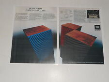 JBL L50 / L212 Rod Stewart Speaker Ad 1979 Article, 2 pages, ready to frame