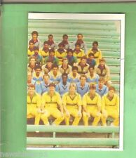 1985 SCANLENS CRICKET STICKER #3 - PART OF COMBINED TEAMS PICTURE
