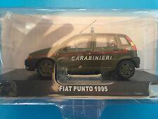 """DIE CAST """" FIAT PUNTO - 1995 CARABINIERI """" SCALA 1/43 CARABINIERI"""