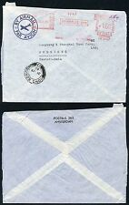 NETHERLANDS to HONG KONG METER FRANKING 1965 AIRMAIL