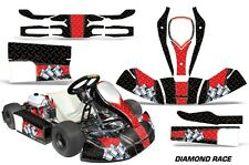AMR Racing Kart Graphic Decal Sticker Kit JR CRG CADET Cart Accessories D RACE R