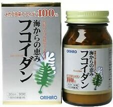 Orihiro Mekabu Marine Fucoidan 90tablets for 30days Made in Japan