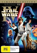 Star Wars IV A New Hope DVD LIMITED EDITION R4