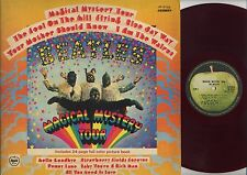 The Beatles - Magical Mystery Tour AP JAPAN RED VINYL LP with INSERTS