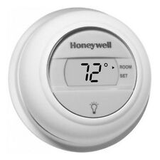 Honeywell T8775A1009 The Digital Round Non-Programmable Thermostat, 24VAC Gas...