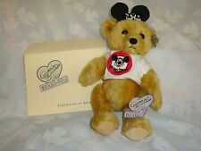 ANNETTE FUNICELLO - MONDAY'S MOUSEKEBEAR with TEE SHIRT - NEVER DISPLAYED