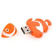 Nemo Fish Aquarium Clownfish 8 GB USB Flash Storage Thumb Drive Pen