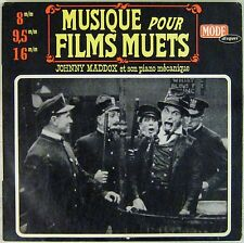 Musique pour films muets 33 tours Johnny Maddox
