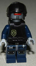 LEGO THE MOVIE ROBO SWAT ROBOT WITH ARMOR AND HELMET MINIFIGURE FIG