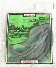 Javis JSTONENS - 1 x 4ft N Gauge Flexible Grey Stone Wall New Bag 2nd Class Post