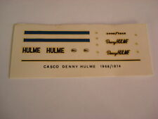 DECALS KIT 1/12 DENNY HULME  MCLAREN F1 24h LE MANS FDS AUTOMODELLI
