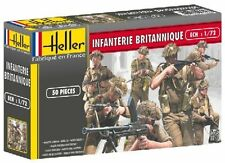 Heller 1/72nd Scale WWII British Infantry Plastic Soldiers Set