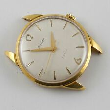 ANTIQUE VINTAGE RUSSIAN USSR GOLD PLATED WRISTWATCH RAKETA 21 JEWELS