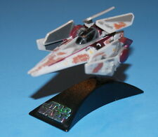 STAR WARS TITANIUM SERIES DIE-CAST METAL V-WING BATTLE DAMAGE LOOSE COMPLETE