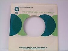 2-MGM  RECORD COMPANY 45's SLEEVES  LOT #266-A