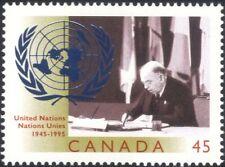 Canada 1995 UN/UNO/United Nations 50th Anniversary/Peace/Welfare 1v (n45598)