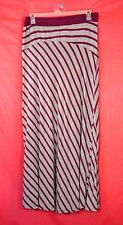 2X✿Retro~Chic✿Striped✿Maxi✿Skirt✿Plus~Size✿Party✿Work✿Gothic✿Pinup+Torrid~Bow