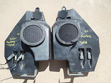 1994-2004 Ford Mustang Convertible Mach 460 Rear Speakers and Enclosures / Boxes