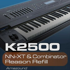 KURZWEIL K2500 REASON REFILL 282 PATCHES NNXT & COMBINATOR 3926 SAMPLES 24bit