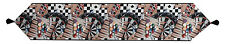 Man Cave ~ Games People Play Pool/Poker/Roulette/Chess Tapestry Table Runner
