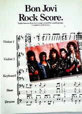 BON JOVI TABLATURE GUITAR TAB BASS TAB BAND SCORE BON JOVI GUITAR TAB SONGBOOK
