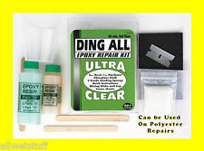 DING ALL EPOXY FIBERGLASS DING REPAIR KIT Longboard Surfboard Surf Resin