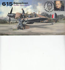 AV600 WWII 615 Squadron WW2 Hawker Hurricane RAF Battle of Britain cover