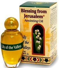 Anointing Oil Lily Of The Valleys 0.34oz From Holyland Jerusalem.