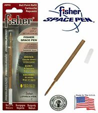 One (1) Fisher Space Pen SPR Series Burgundy Ink / Medium Point Refill #SPR5
