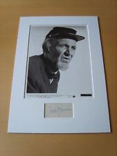 Walter Brennan Genuine Autograph - UACC / AFTAL.