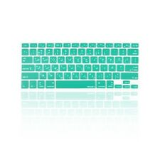 "Arabic / English AQUA Silicone Keyboard Cover Skin for Macbook Pro 13"" 15"" 17"""