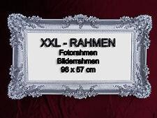 BILDERRAHMEN FOTORAHMEN BAROCKRAHMEN ROKOKO ANTIK 96x57 REPRO IN SILBER RAHMEN 7