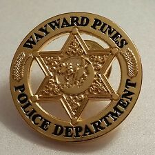 WAYWARD PINES POLICE DEPARTMENT Lapel Pin