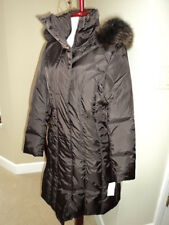 BNWT MARC NEW YORK Sz.Small Chocolate Brown Megan Clo Down Parka Coat Excellent!