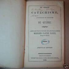 Le grand catéchisme du Diocèse de Québec