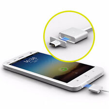 Universal Android Metal Micro USB Magnetic Adapter Charger Cable for SAMSUNG LG